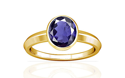 Iolite Gold Ring (A1)