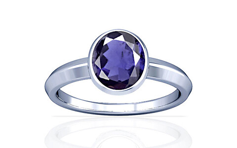 Iolite Silver Ring (A1)