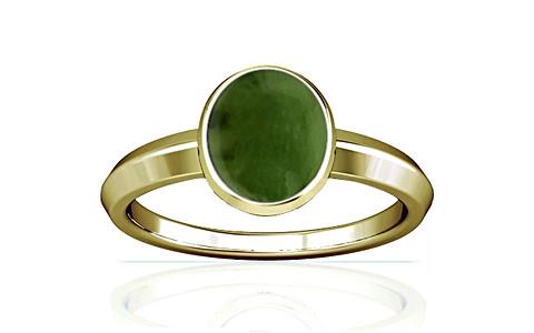 Nephrite Jade Panchdhatu Ring (A1)