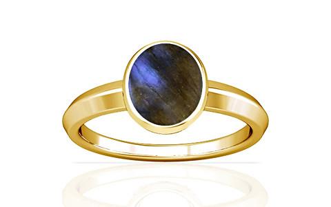 Labradorite Gold Ring (A1)
