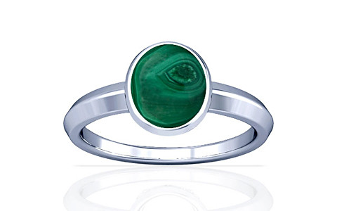 Malachite Silver Ring (A1)