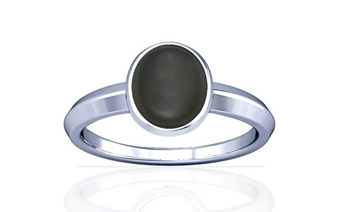 Gray Moonstone Silver Ring (A1)