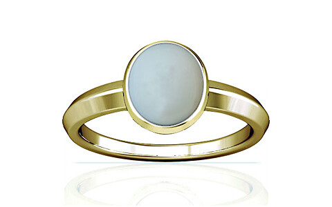 Moonstone Panchdhatu Ring (A1)