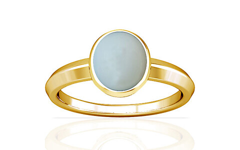 Moonstone Gold Ring (A1)