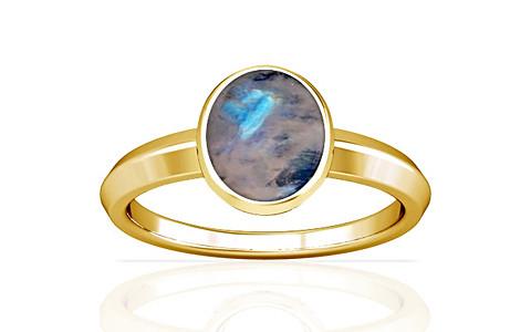 Rainbow Moonstone Gold Ring (A1)