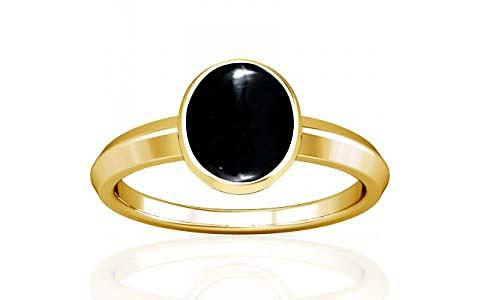 Black Onyx Gold Ring (A1)