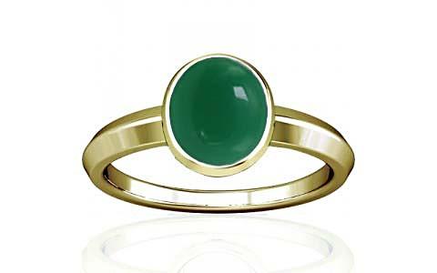 Green Onyx Panchdhatu Ring (A1)