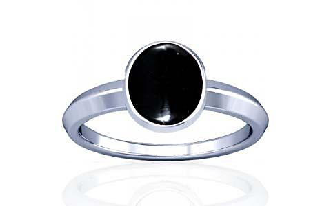 Black Onyx Silver Ring (A1)