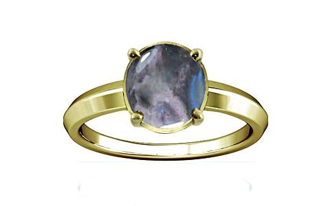 Black Opal Panchdhatu Ring (A1)