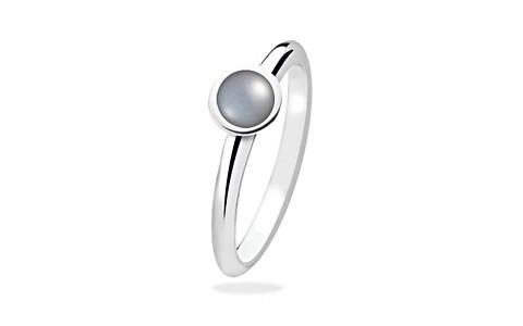 Pearl (Tahiti) Silver Ring (AP1)