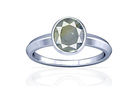 Pitambari Neelam Sterling Silver Ring (A1)