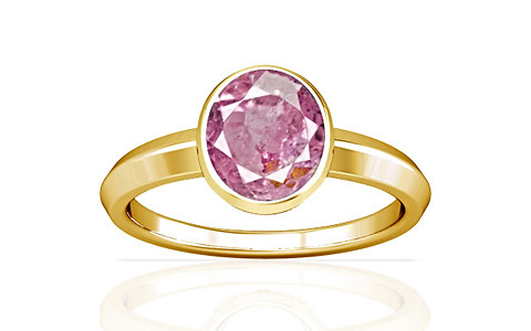 Pink Sapphire Gold Ring (A1)