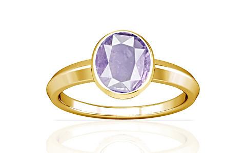 Purple Sapphire Gold Ring (A1)