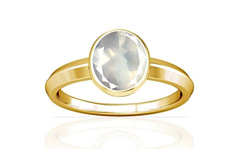 Rose Quartz Gold Ring (A1)