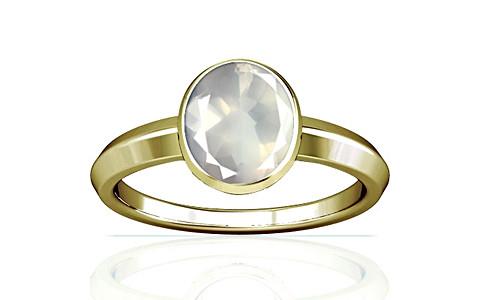 Rose Quartz Panchdhatu Ring (A1)