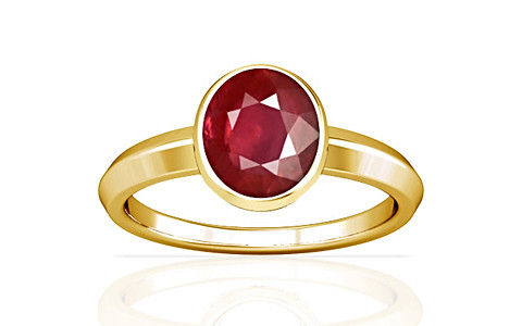 Ruby Gold Ring (A1)