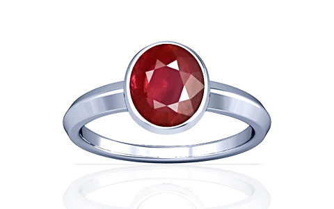 Ruby Silver Ring (A1)