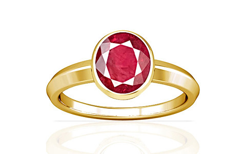 Ruby (Old Burma) Gold Ring (A1)