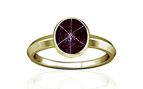 Star Ruby Panchdhatu Ring (A1)