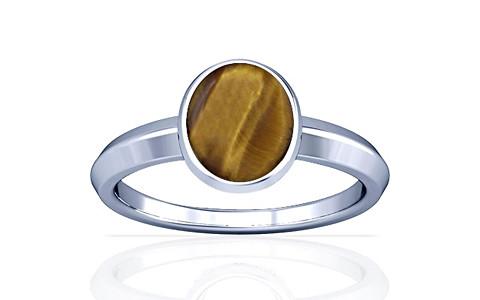 Tiger Eye Silver Ring (A1)