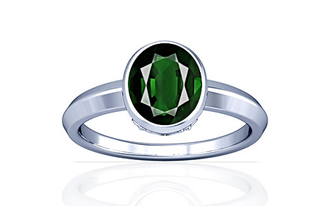 Tourmaline Silver Ring (A1)