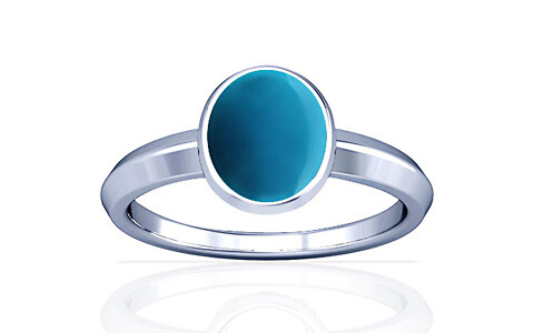 Turquoise Silver Ring (A1)