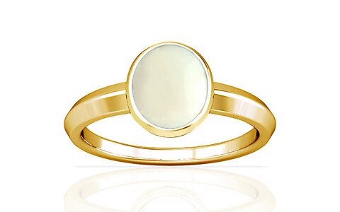 White Coral Gold Ring (A1)