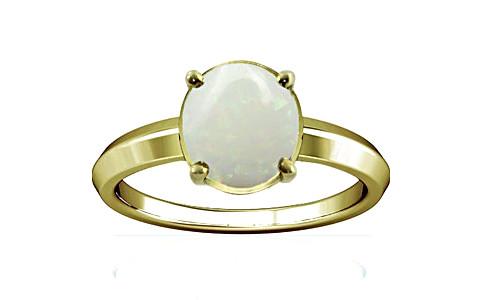 White Opal Panchdhatu Ring (A1)