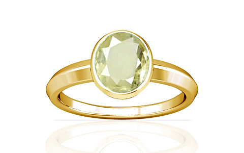Yellow Sapphire Gold Ring (A1)