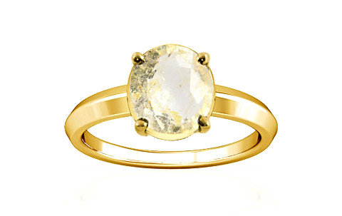 Yellow Topaz Gold Ring (A1)