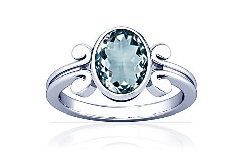 Aquamarine Silver Ring (A10)