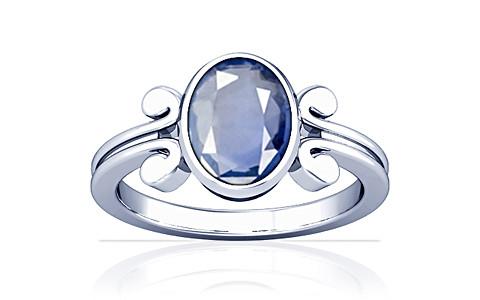 Blue Sapphire Silver Ring (A10)
