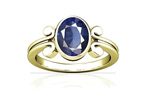 Blue Sapphire (Thailand) Panchdhatu Ring (A10)