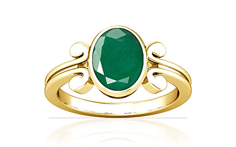 Emerald Gold Ring (A10)
