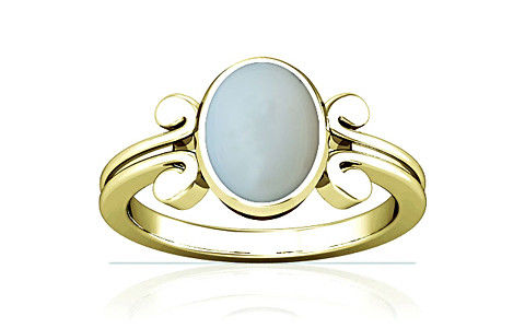 Moonstone Panchdhatu Ring (A10)