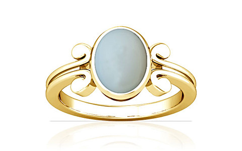 Moonstone Gold Ring (A10)