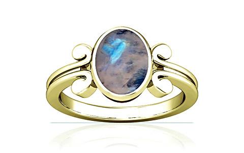 Rainbow Moonstone Panchdhatu Ring (A10)
