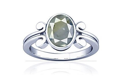 Pitambari Neelam Sterling Silver Ring (A10)