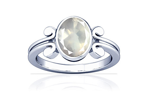 Rose Quartz Sterling Silver Ring (A10)