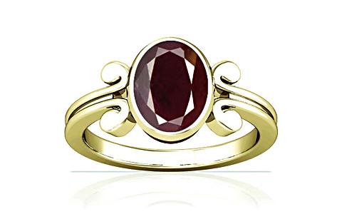 Indian Ruby Panchdhatu Ring (A10)