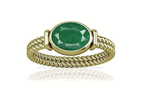 Green Beryl Panchdhatu Ring (A11)