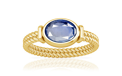 Blue Sapphire Gold Ring (A11)