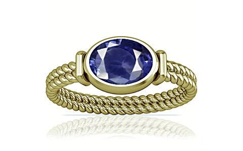 Blue Cubic Zirconia Panchdhatu Ring (A11)