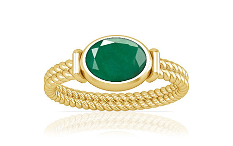 Emerald Gold Ring (A11)