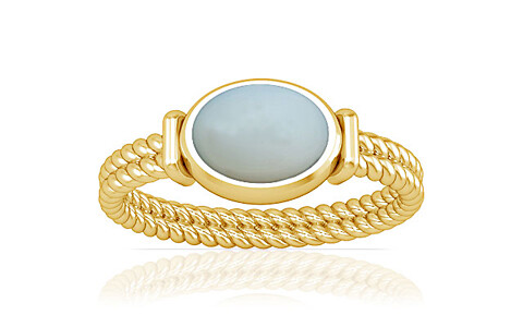 Moonstone Gold Ring (A11)