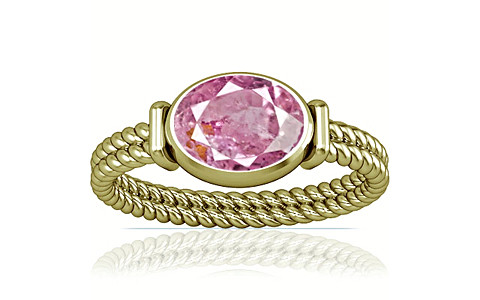 Pink Sapphire Panchdhatu Ring (A11)