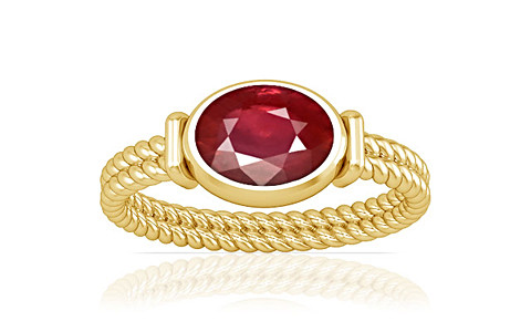 Ruby Gold Ring (A11)