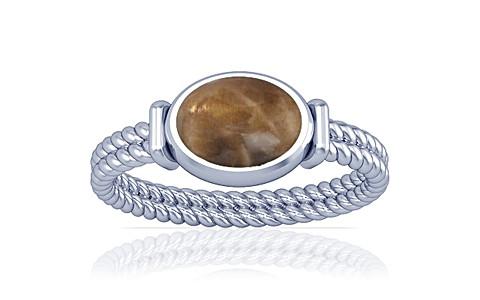 Sunstone Silver Ring (A11)