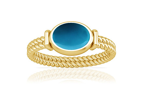 Turquoise Gold Ring (A11)