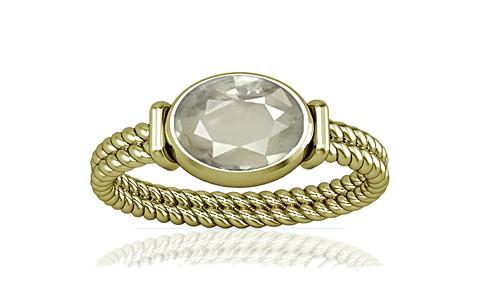 White Sapphire Panchdhatu Ring (A11)